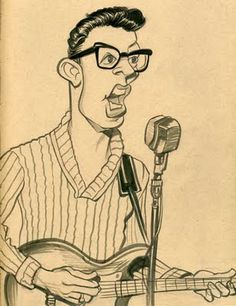 Buddy Holly (by Zack Wallenfang) from Lubbock, Texas