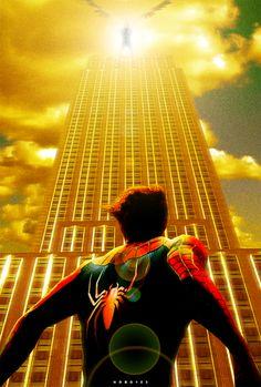 Spiderman Vulture poster by on DeviantArt Marvel Dc, Marvel Heroes, Lego Marvel, Comics Spiderman, Marvel Comics Art, Univers Marvel, Stan Lee, Spider Man Trilogy, Fictional Heroes