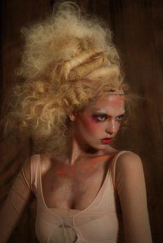 Martha Hunt by Jamie Nelson for BMM Magazine Modern Georgian, High Fashion Poses, Jamie Nelson, High Hair, Runway Makeup, Martha Hunt, Edgy Makeup, Advertising Photography, Beauty Editorial