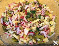 Radieschen - Apfel - Salat