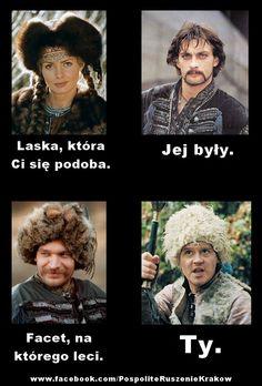 Ogniem i mieczem na wesolo Dark Net, Obelix, Sword, Fandoms, Humor, Memes, Poland, Movie Posters, Fun