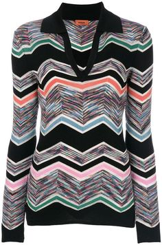 Missoni striped v-neck jumper. Jumper sweater fashions. I'm an affiliate marketer. When you click on a link or buy from the retailer, I earn a commission.