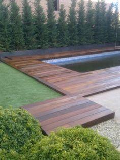 instalacion de madera Ipe