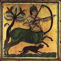 [For the bow]    Vallée de la Meuse - vers 1160 - 1170  Plaque : Centaure    via www.louvre.fr