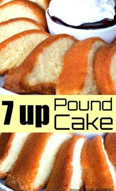 """7 up Pound Cake - This 7 up pound cake recipe is from my dear friend Jocelyn Delk's brand new cookbook named after her popular blog """"Grandbaby Cakes."""""""