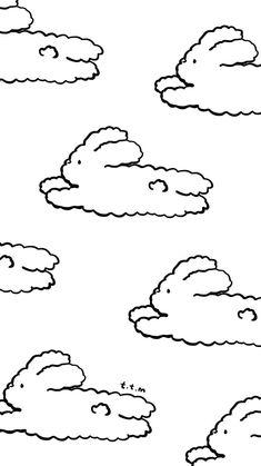 Kawaii Wallpaper, Cartoon Wallpaper, Wallpaper Backgrounds, Iphone Wallpapers, Cute Lockscreens, Artsy Background, Crayon Drawings, Ppr, Locked Wallpaper