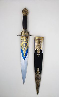 Dagger with Sheath, Place of creation: Russia Author (Master) : Boyarshinov…