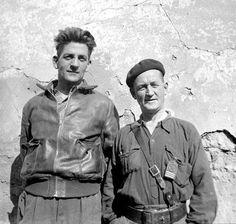 Frank Ryan et John Robinson de la XVe Brigade Internationale
