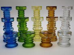 Carmen design by Riihimaki Retro Art, Retro Vintage, Glass Design, Design Art, Glass Bottles, Glass Vase, Old Commercials, Glass Artwork, Scandinavian Art