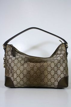 Gucci Handbags Beige Fabric and Brown Leather « Clothing Impulse