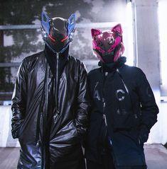 Cyberpunk Mask, Cyberpunk Fashion, Steampunk Fashion, Gothic Fashion, Armor Concept, Concept Art, Character Concept, Character Art, Laser Tag