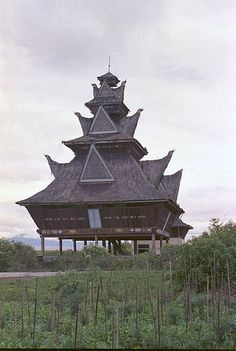 Indonesian architecture on Sumatra - 2