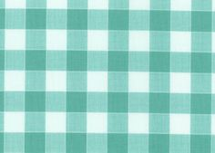 Glamping Gingham Cotton Wild Blue