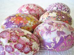 Easter Eggs Violet Easter Eggs Lavender Easter by CatnipStudioToo, $43.00