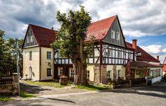 Nice accommodation in Bohemian Switzerland Czech Republic, Switzerland, Cabin, Mansions, Nice, House Styles, Bohemian, Home Decor, Decoration Home