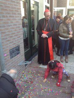 Feestelijke opening nieuwe Parochiezaal in aanwezigheid kardinaal Eijk... 28/2/16