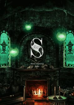 Slytherin Hogwarts House Animation from thebloodybaron #harrypotter