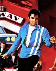 Elvis Presley in Speedway