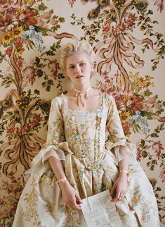 Marie Antionette (Kirsten Dunst) 'Marie Antoinette' 2006. Costume designed by Milena Canonero.
