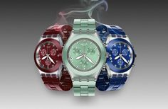These Swatch watches are smokin hot #style