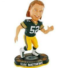 Clay Matthews Green Bay Packers Bobblehead 2012 $24.99