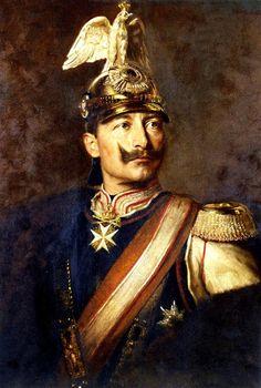 International Portrait Gallery: Retrato en busto del Emperador Wilhelm II de Alema...