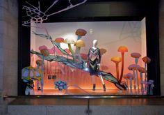 """ISETAN SHINYUKU, Tokyo, Japan,""""Magic Mushrooms"""", pinned by Ton van der Veer"""