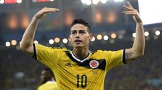 James Rodriguez put on a show against Uruguay. Can Colombia take out Brazil next?