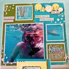 Scrapbook Page | Under the Sea
