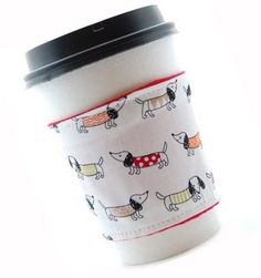 Dachshunds in Sweaters TEA Sleeve