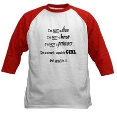 Smart Girl T-Shirt on www.amightygirl.com