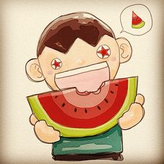 Yummy Watermelon ^^