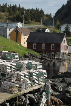 Tizzard's Harbour, Notre Dame Bay Newfoundland And Labrador, Newfoundland Canada, Atlantic Canada, Ocean Sounds, Arctic Circle, Prince Edward Island, Beautiful Sites, New Brunswick, Fishing Villages