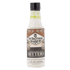 This Fee Brothers bitters set will have you ready to match any spirit with an old fashioned orange bitters recipe and whiskey bitters, both barrel-aged. Cocktail Bitters, Cocktail Mix, Bourbon Cocktails, Cocktail Recipes, Whiskey Bottle, Vodka Bottle, Whiskey Barrels, Guinness Cocktail, Whiskey Barrel Furniture