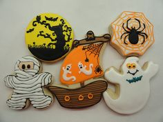 Halloween cookies! by Adda Boys Cookies, via Flickr