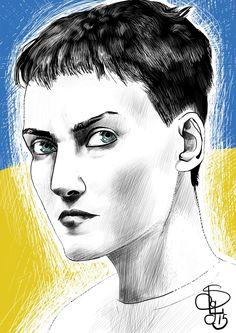 "Кривава Художниця on Twitter: ""Наша украинская Жанна д`Арк — Надія. За фото: спасибо @EvgenyFeldman @deMonte_Cristo #ххудожества #FreeSavchenko http://t.co/U2KNJEbvLA"""