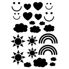 Smiles and Rainbows SVG cut files for the Silhouette Cameo and Cricut. Craftables: Fast shipping, responsive customer service, and quality products Free Svg Cut Files, Svg Files For Cricut, Silhouette Machine, Silhouette Cameo, Dot Art Painting, Pattern Cutting, Free Baby Stuff, Svg Cuts, Cutting Files