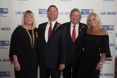 Debbie and Honoree Alexis Hocevar with past Honoree Bob and Cheryl Merrick