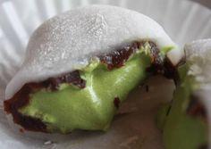 Plump Matcha Daifuku Recipe - Yummy this dish is very delicous. Let's make Plump Matcha Daifuku in your home!
