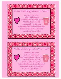 valentines chocolate poem