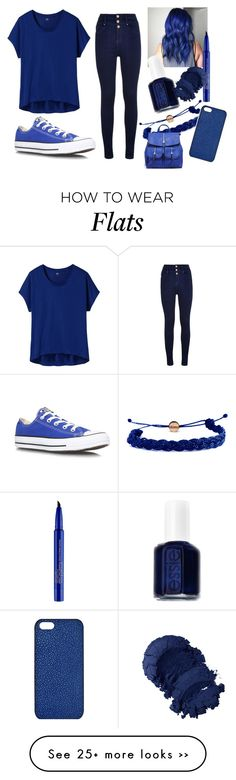 """""""Rainbow Tag: Blue"""" by ticci-toby on Polyvore"""