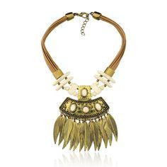 Erê, marca expositora da Feira Bijoias. colar, necklace, tribal, étnico, fashion jewelry, maxicolar, acessório, style
