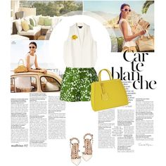 Carte Blance by malbina-82 on Polyvore featuring Theory, Michael Kors, Fendi and Kate Spade