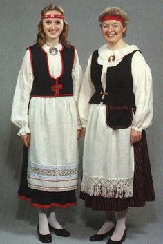 finnish native dress - Google Search