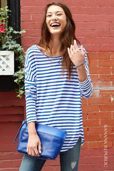 nautical striped shirt