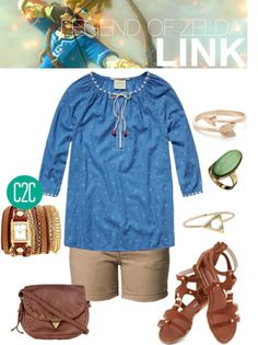 Link inspired outfit