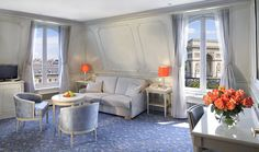 Our renovated Suites with view in our beloved Privilege style - Hotel Splendid Etoile - www.hsplendid.com