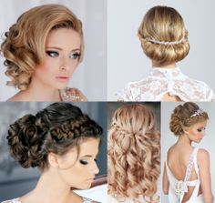 Wedding hairstyle inspiration. To see more: http://www.modwedding.com/category/dresses-style/wedding-hairstyles/