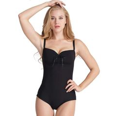 9632c247494e0 Body Shaper Black with Straps