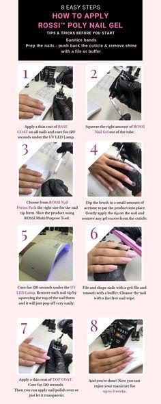 Polygel Nails, Nails Inc, Diy Nails, Hair And Nails, Acrylic Nails, Hard Gel Nails, Manicures, Gel Polish Colors, Gel Color